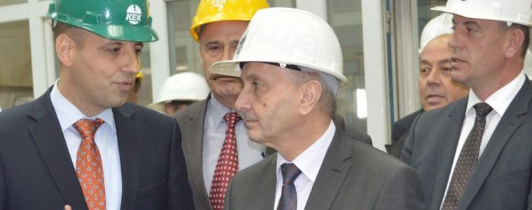 Vizita e Kryeministrit në Korporatën Energjetike të Kosovës (KEK)