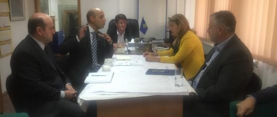 KEK-un e viziton Komisioni për Zhvillim Ekonomik