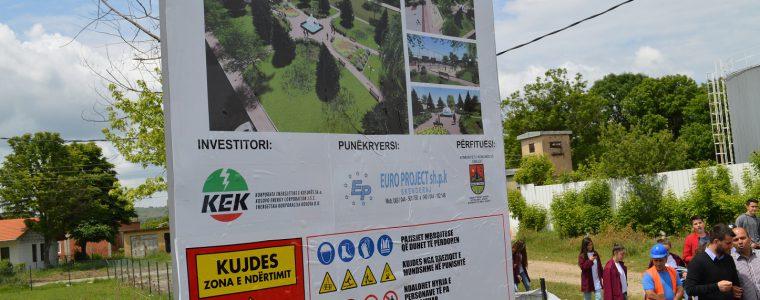 KEK-u financon parkun e ri të qytetit të Obiliqit