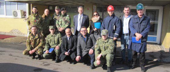 """Inspektohet """"Kosova A"""" për nivelin e sigurisë"""