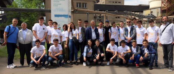 Nxënësit nga Peja vizitojnë KEK-un