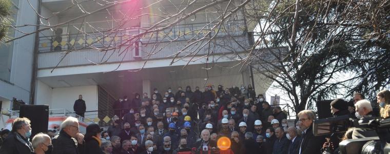 Në 40 vjetorin e demostratave të studentëve është vendosur gurthemeli i monumentit që kujton demostratat e vitit 1981.